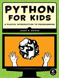 "Portada del libro ""Python for kids"""